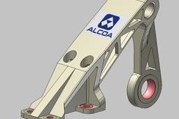 Optimized flap bearing