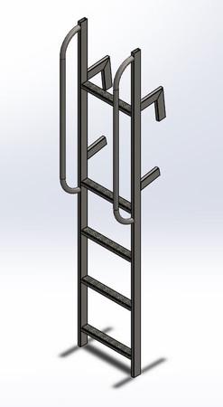 Escada Móvel para carrocerias