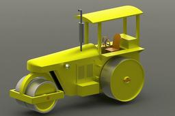 Typical Road Roller