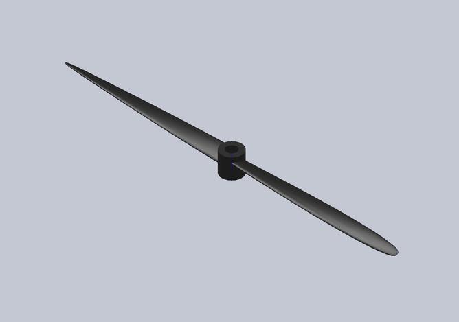Propeller GWS 7040