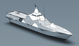 Visby Class Stealth Corvette