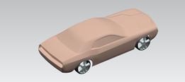 ClaY Model Of Dodge Challenger