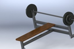 GYM BENCH EQUIPMENT