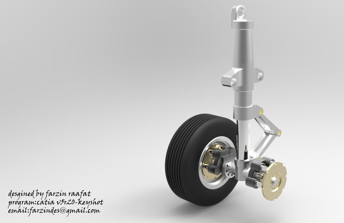 landing gear (airplane wheel)