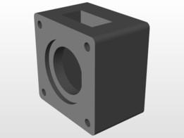 Nema 23 CNC bracket