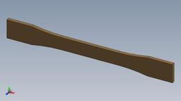 ASTM D638-10 Type I Tensile Specimen