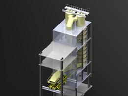 Repair the installation of the gas cleaning sinter factory  Ремонт газоочистной установки агломерационной фабрики