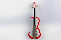 Electric Violin 2.0 3D printed