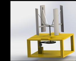 Wind turbine VAWT