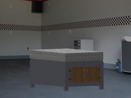 Granite Shop Table