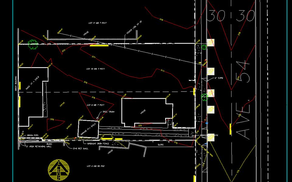 Topographic Survey 3d Cad Model Library Grabcad