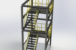 Uneven Level Stair Tower