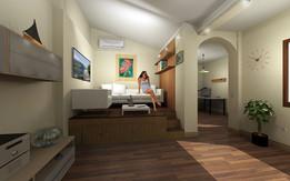 Bed Under floor - Cama bajo el suelo