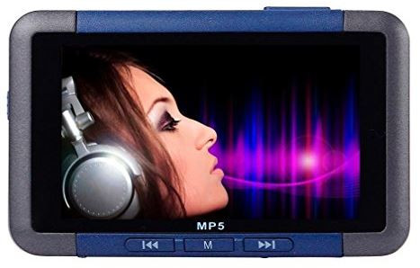 Lary intel 8GB Slim MP3 MP4 MP5 Music Player With 4 3'' LCD