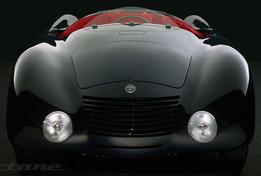 Alfa Romeo 6C 2300 spider aerodinamica Jankovitz 1937