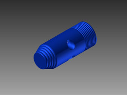 Spyder Paintball Gun (CO2 Intake)