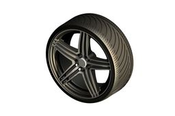 Wheel of a Sportscar, Tomason TN5 Rim
