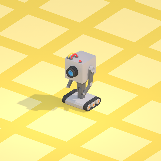 butter robot from rick and morty 3d cad model library grabcad