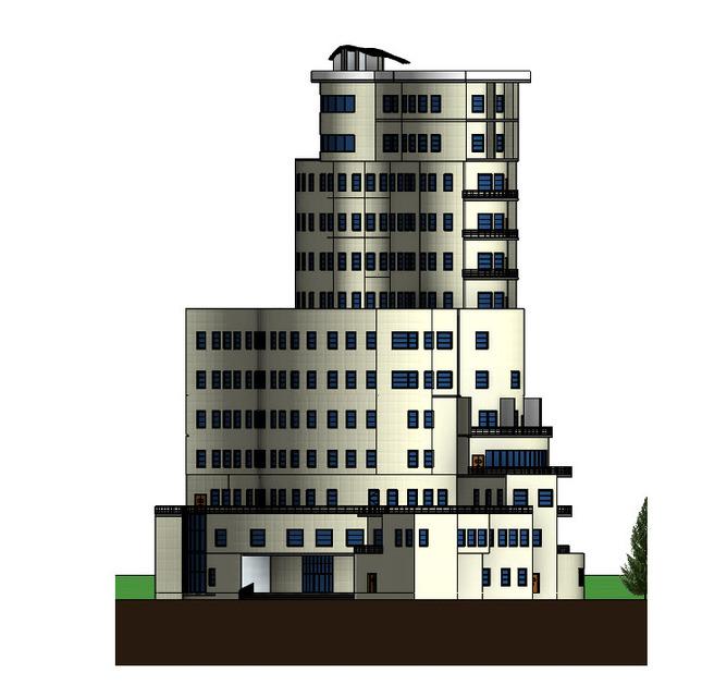 HOTEL Revit File | 3D CAD Model Library | GrabCAD