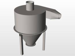 Compact Cyclone Filter