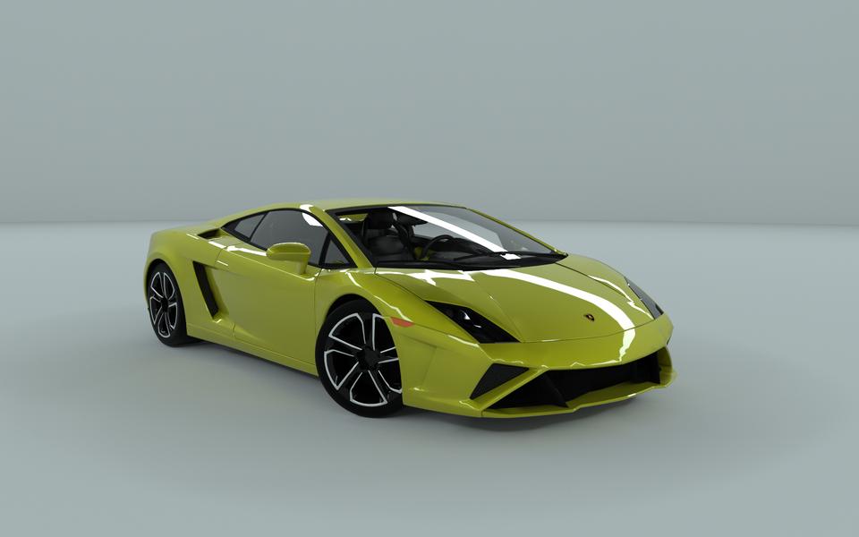 2013 Lamborghini Gallardo Lp560 4 Renders 3d Cad Model Library