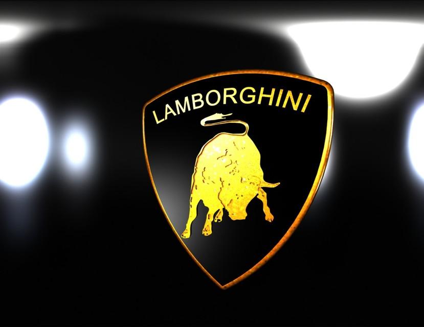 Logo Lamborghini 3d Cad Model Library Grabcad