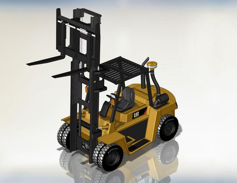 SOLIDWORKS, truck - Most downloaded models | 3D CAD Model