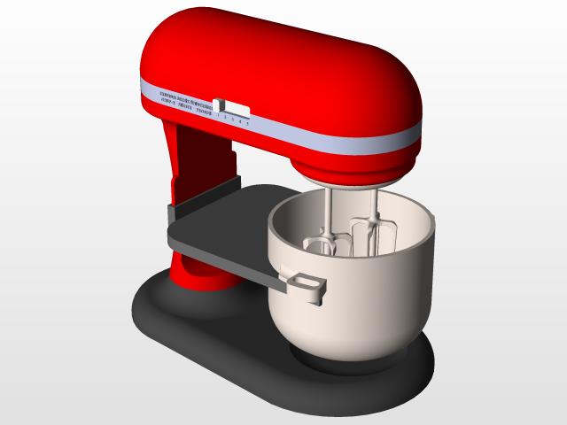 Kitchen Mixer | 3D CAD Model Library | GrabCAD