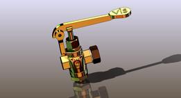 Drain valve full