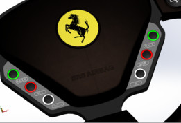 Ferrari Enzo Dash Steering Wheel