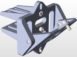 8020 Mount for UV Projector