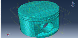 Abaqus high load piston analysis