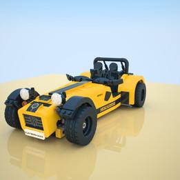 Lego set 21307 - Caterham Seven 620 R - 2016