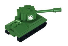 Lego Mini Sherman Tank
