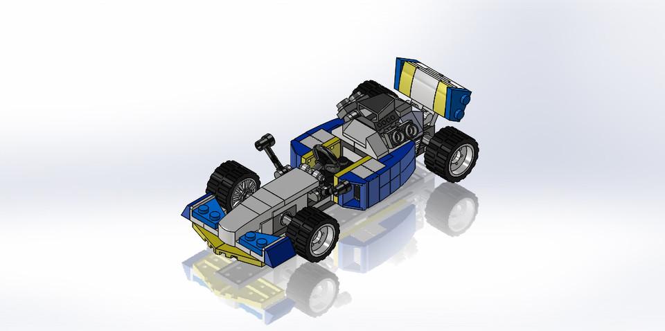 lego creator 31072 | 3D CAD Model Library | GrabCAD