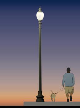 Man & Luminaire