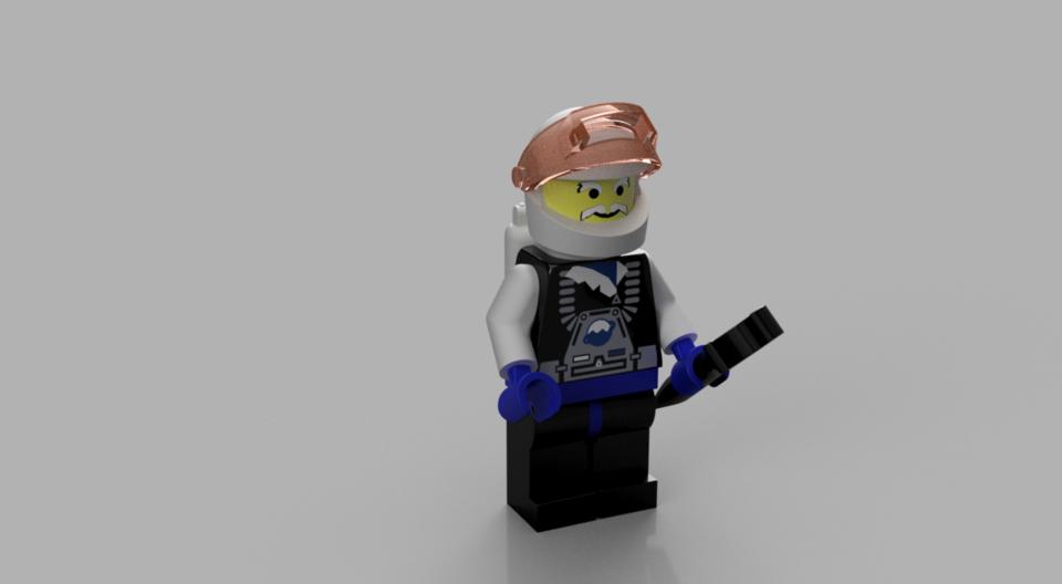 Lego-Part | 3D CAD Model Library | GrabCAD