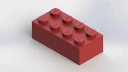 Lego 2X4 (Solidworks)