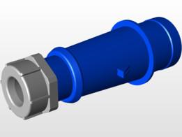 CEE Plug 3pin 2P+PE Male 220V 32A typ 260