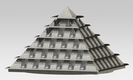 decorative piramide