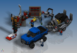 LEGO Speed Champions - Ford F-150 Raptor & Ford Model A Hot Rod (75875)