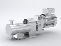 Alva Lavel pump with gearbox and 2 hp motor (reuploaded)