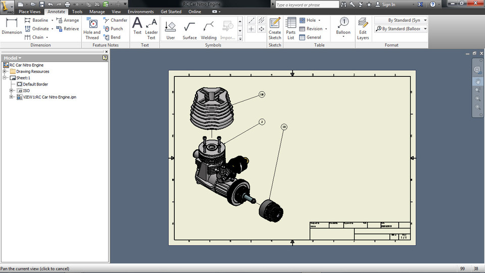 Tutorial: How to create a presentation file in Autodesk Inventor