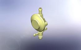Pressure regulator for propane