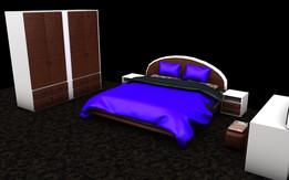 BED ROOM SET  FONSECA