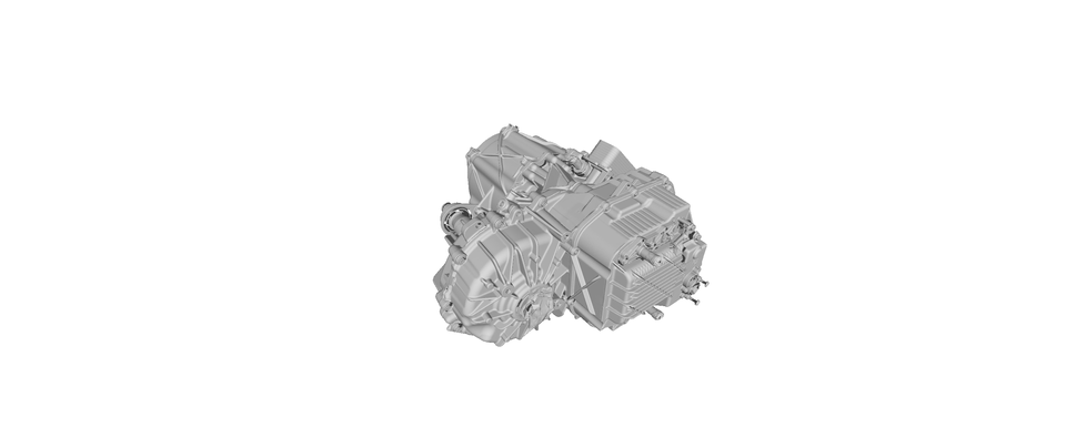 Tesla Front Small Drive Unit 3D Scan | 3D CAD Model Library