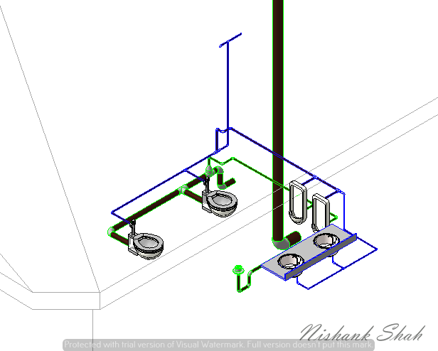 Plumbing Template Using Revit Mep