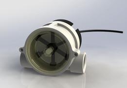 """Gems Sensors Flowmeter RFO G1/2"""" PP-body"""
