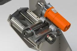 V-belt grinder