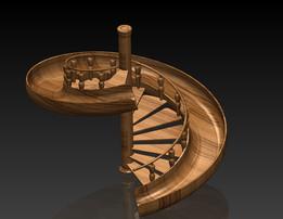Merdiven çocuklar için......